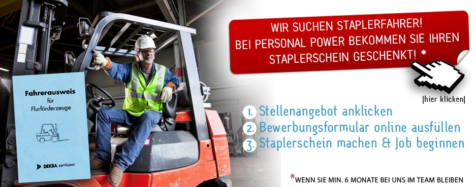 Jobs in HamburgStaplerschein2
